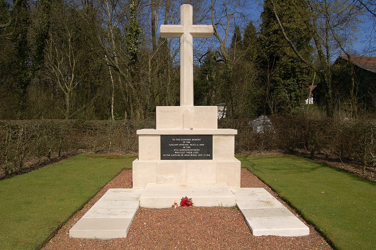 London Division Memorial at High Wood