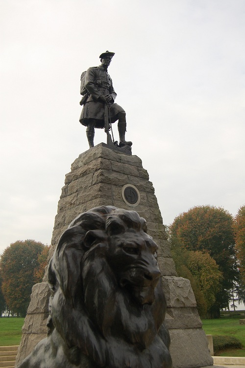 Newfoundland Park, Beaumont Hamel, The Somme, France