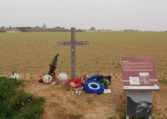 Plugstreet, site of the Xmas truce