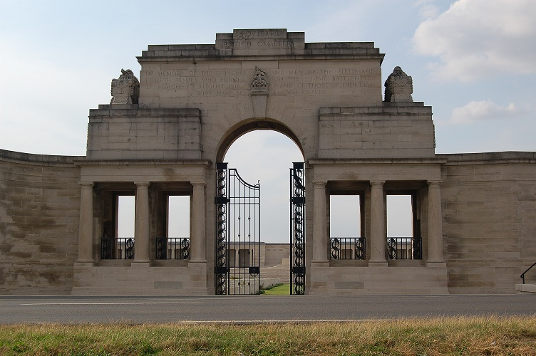 Pozieres cemetery and memorial, The Somme, France