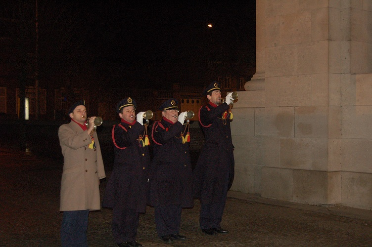 The Last Post at the Menin Gate