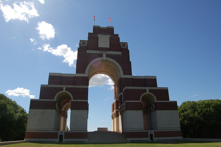 Thiepval memorial to the missing, The Somme, France