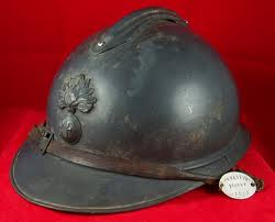French steel helmet